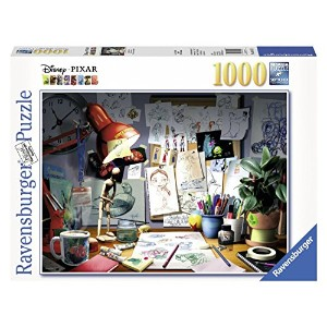Ravensburger Disney Pixar: The Artist's Desk Puzzle (1000 Piece) [並行輸入品]