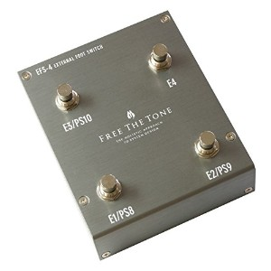 Free the Tone / EFS-4 SILVER EXTERNAL FOOTSWITCH