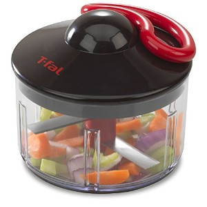 T-fal Ingenio Hand-Powered Rapid Food Chopper, Black by T-fal