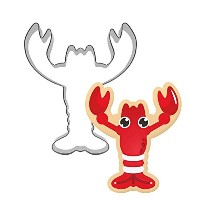 GXHUANG Lobster Sugar Cookie Cutter–ステンレススチール