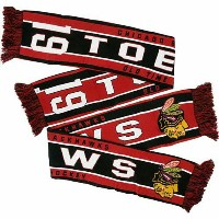 NHL ジョナサン・テイヴス ニットマフラー Chicago Blackhawks Old Time Hockey Jonathan Toews Scarf