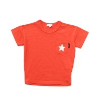 【3can4on(Kids) (サンカンシオン)】天竺蓄光スターTシャツキッズ トップス カットソー・Tシャツ イエロー