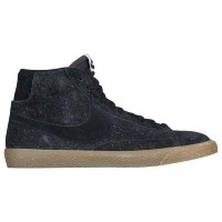 (取寄)ナイキ メンズ ブレーザー ミッド Nike Men's Blazer Mid Black Black Gum Light Brown