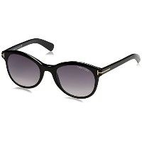 Tom Ford TF 298 Riley 01B Black TF298 Women's Cat Eye Eyeglasses 51mm