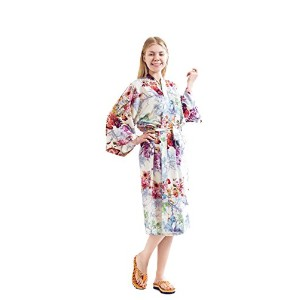 Robe&Wedding cotton robe sexy robe long robe women robe綿ガウン、長めネグリジェ (M, red)