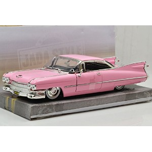 """JadaTOYS 1:24scale BIGTIME KUSTOMS """"'59 CADILLAC COUPE DE VILLE""""(PINK) ジェイダトイズ 1:24スケール ビッグタイム..."""