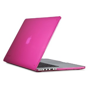 【日本正規代理店品】Speck MacBook Pro (with Retina Display) 15 SeeThru Hot Lips Pink SPK-A2731