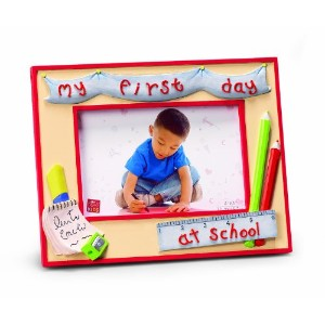 Russ Berrie My First Day At School 4 x 6 Photo Frame (Discontinued by Manufacturer) by Russ Berrie
