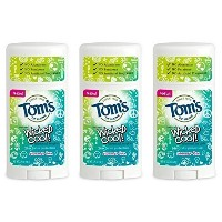 Tom's of Maine Natural Wicked Cool Deodorant for Girls Summer Fun 2.25 oz (Pa... by KT Travel