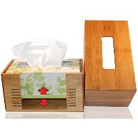 pandpal OneサイズFits Allティッシュボックスカバーfor Kleenex、preference、Envision、AngelSoft and More、フィット長方形ペーパーボックス...