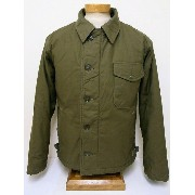 Buzz Rickson's[バズリクソンズ] A-2 デッキジャケット BR12291 DECK JACKET U.S.NAVY (OLIVE DRAB) 送料無料 代引き手数料無料 【RCP】