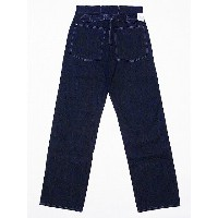 Buzz Rickson's[バズリクソンズ] ワークパンツ トラウザーズ ワーキング デニム BR41106A TROUSERS WORKING DENIM (ONE-WASH/NAVY)...