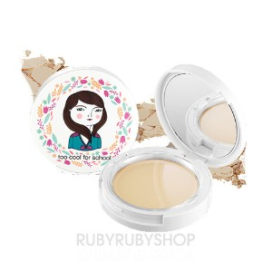 [TOO COOL FOR SCHOOL] Photoready Pact 10g - No.1 Light Beige (SPF25)