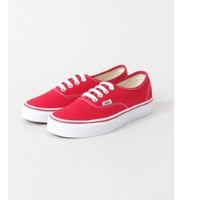 Sonny Label VANS AUTHENTIC【アーバンリサーチ/URBAN RESEARCH レディス スニーカー RED ルミネ LUMINE】
