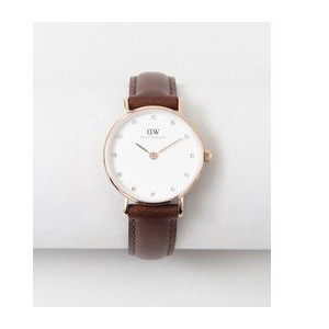 ROSSO Daniel Wellington CLASSY ST ANDREWS/26【アーバンリサーチ/URBAN RESEARCH レディス 腕時計 ROSE GLD/LBRN ルミネ...