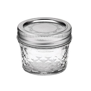 mj-80400 4oz(118ml) クリア (ボール) Ball メイソン ジャー Ball Quilted Crystal Jelly Jars【80400】容器 4oz 118mlガラス...