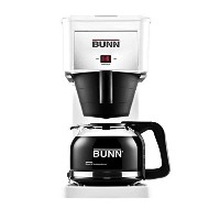 Bunn GRX Commercial Style Home Coffee Maker, White by Bunn