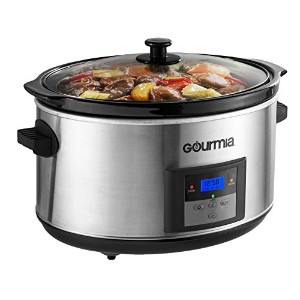 Gourmia DCP-860 SlowSmart 8.5 quart Digital Slow Cooker with Multiple Programmable Modes & Cool...