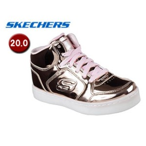 SKECHERS/スケッチャーズ 10771L-RSGD ENERGY LIGHTS-DANCE-N-DAZZLE キッズ[ライトアップ機能付き]【20.0】(ROSE GOLD)