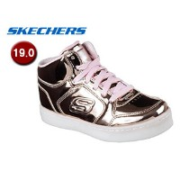 SKECHERS/スケッチャーズ 10771L-RSGD ENERGY LIGHTS-DANCE-N-DAZZLE キッズ[ライトアップ機能付き]【19.0】(ROSE GOLD)