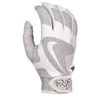 ナイキ メンズ 野球 グローブ【Nike MVP Pro Batting Gloves】White/White/White