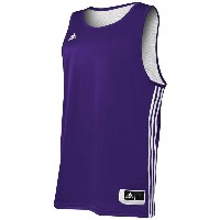 アディダス メンズ トップス タンクトップ【adidas Practice Reversible Jersey】Collegiate Purple/White