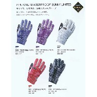 VOLUME GLOVES PIPEKING WATERPROOF BUNNY LIMITED GORE-TEX 【スノーボード グローブ】715005
