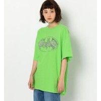 JUNK FOOD AC T【アナザーエディション/Another Edition レディス Tシャツ・カットソー LIME ルミネ LUMINE】