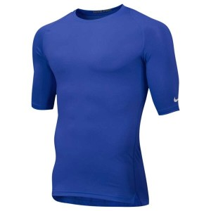 ナイキ メンズ トップス Tシャツ【Nike Team Core 1/2 Sleeve Compression Top】Royal