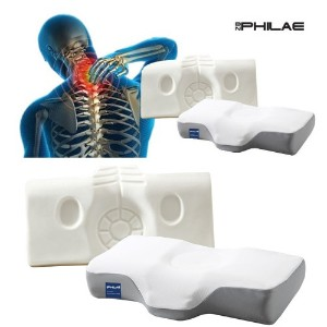 BN PHILAE Made in KOREA Delux Pillow Neck Muscle Release / Comfortable/Best Pillows for Neck Pain...