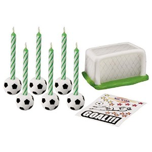 WiltonトッパーSet with Decals Soccer 3922-9532-125710