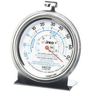 Culinary Depot ( 1)オーブン温度計50–500度( 1)冷蔵庫/冷凍庫thermometer-20–70度3インチCommercialステンレス温度計フック...