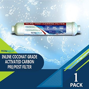 t33インラインCoconut Grade Activated Carbon Pre / Post膜フィルタの味と臭気Reduction RA-T33