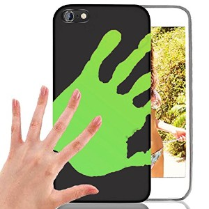 iphone 7 PlusCase, AICOO Slim-fit Magical Sensitive Thermal Heat Induction Fluorescent Noctilucent...