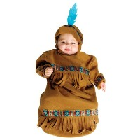 Papoose Bunting Infant Costume パプースホオジロ幼児コスチューム サイズ:up to 9 Months