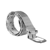◆Direct from USA◆ uxcell Men Stainless Steel Five Eyelets Detail Adjustable Waist Belt-