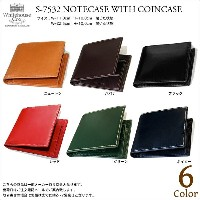 Whitehouse Cox(ホワイトハウスコックス)S7532 NOTECASE WITH COINCASE