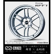 【ENKEI Racing RPF1】 18インチ 10.0J 5H/114.3 +38 SILVER for JAPANESE CARS 『エンケイ レーシングRPF1』