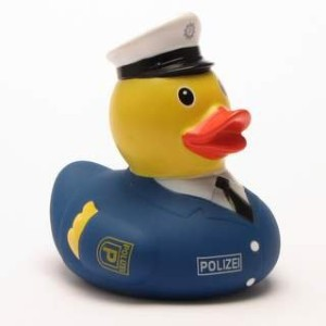 Rubber Duck Police Officer - ???????