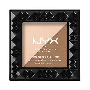 NYX Cheek Contour Duo Palette 01 Cheek On Cheek (並行輸入品)