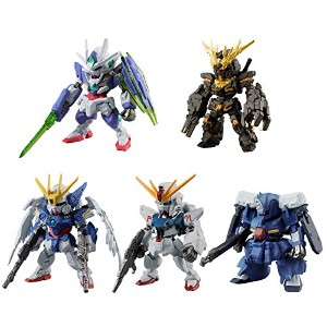 FW GUNDAM CONVERGE SELECTION [REAL TYPE COLOR] 全5種フルコンプセット