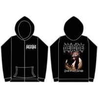Deicide - Scars Of The Crucifix Zip Hoodie - Size X-Large