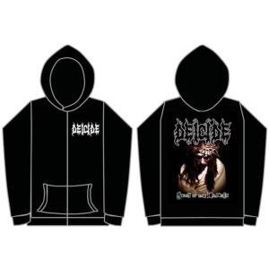 Deicide - Scars Of The Crucifix Zip Hoodie - Size Small