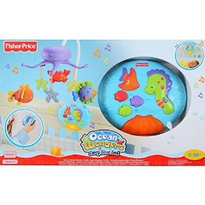 Fisher-Price Ocean Wonders Deep Blue Sea Mobile Fisher-Price Crib Mobiles Remote Control by Fisher...