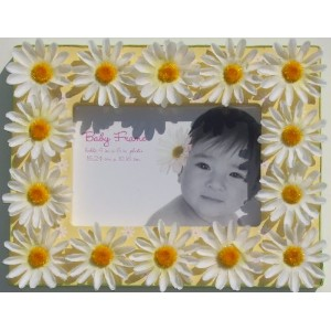 Baby Essentials Themed Baby Frame 4 x 6 PINK, BLUE, YELLOW (Yellow) by Baby Essentials