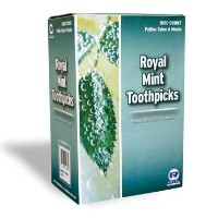 Royal Mint Individual Cello Wrapped Toothpicks, Package of 1000 by Royal