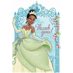 Princess and the Frog Thank-You Cards w/ Envelopes (8ct) by Amscan