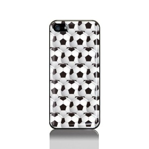 iPhone 5/5S ケース サッカーボール柄・小