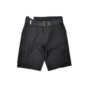 LEVI'S CARGO SHORT PANTS/BELTED (BLACK)リーバイス/カーゴショーツ/黒