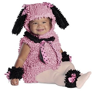 Pink Poodle Infant / Toddler Costume ピンクのプードルの赤ちゃん/幼児コスチューム サイズ:6/12 Months